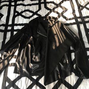 Fun leather jacket
